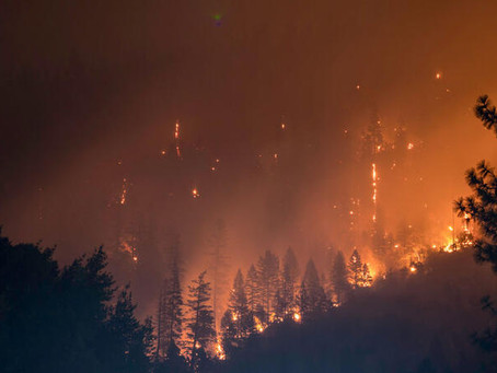 PG&E equipment may have caused a deadly fire that burned some 30,000 acres