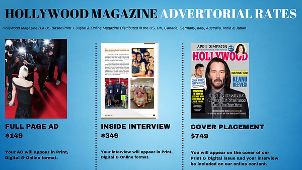 Hollywood Magazine Advertorial Rates (1)