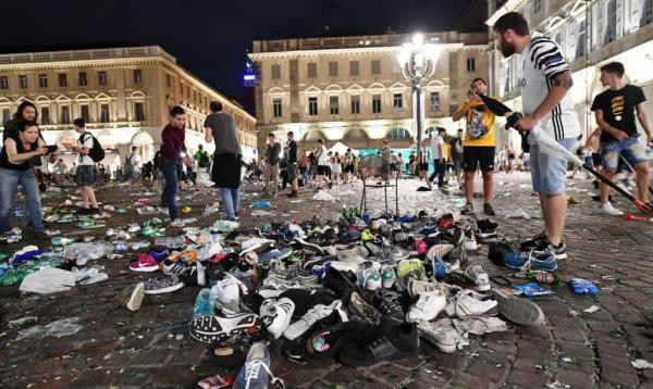 Over 1,500 injured in stampede at soccer crowd in Italy