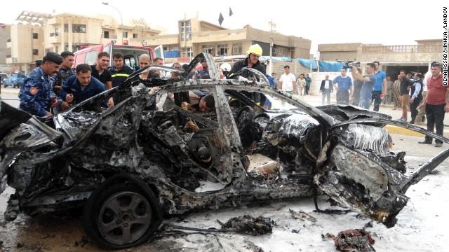 Bagdad Suicide bombings Breaking News