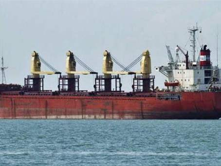 South Korean cargo ship disappears in South Atlantic