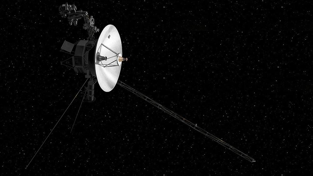 Voyager 2: Credit: NASA