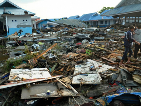 Tsunami in Indonesia death toll reaches 1,200