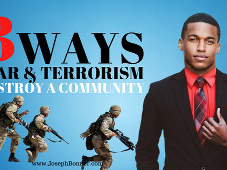 3 ways war & terrorism destroy a community