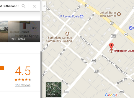 Google Review Flooded With Support After Sutherland Springs Church Shooting