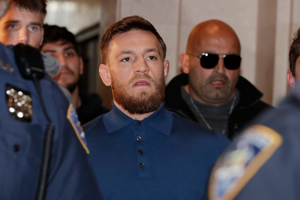 McGregor's UFC future in doubt in wake of felony charges