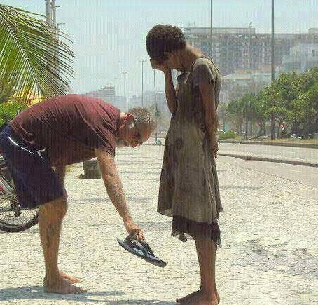 Do what you can to make someone's day brighter