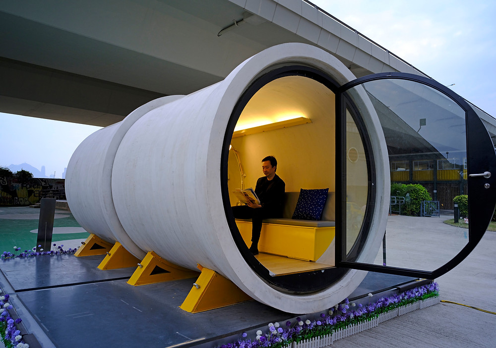 Pipe dream? Hong Kong architect proposes low-cost tube homes