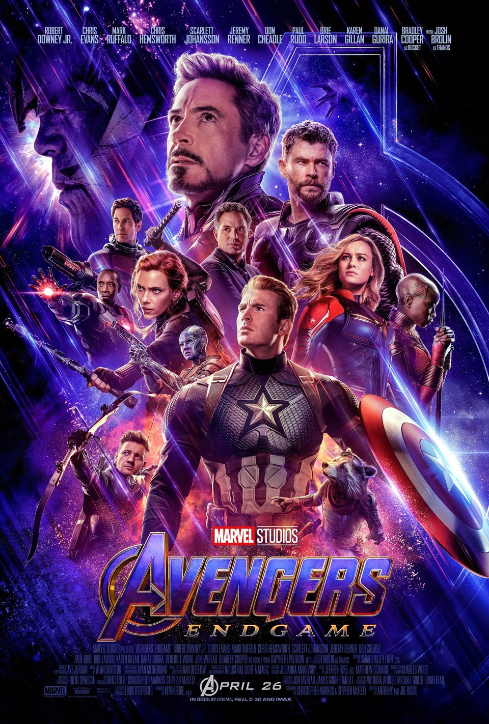 'Avengers: Endgame' poster reissued to include 'Black Panther' star Danai Gurira's in group billing.