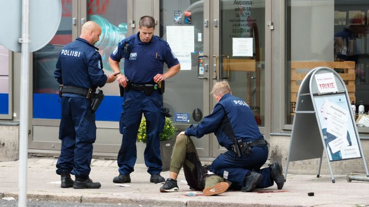 Man stabs eight people in Finland  | News, World News, LEGEND