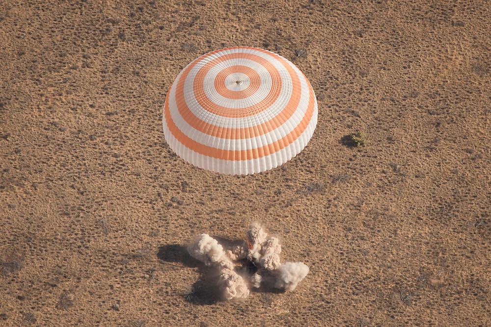 Russian Soyuz capsule