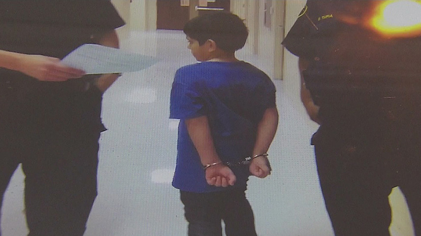 DISD Police Handcuff 7-Year-Old With Special Needs