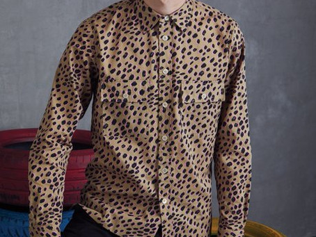 In love with  animal print wear by Paul Smith
