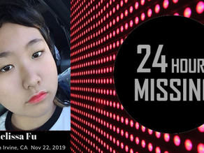 It Takes Seconds to Share:  Melissa Fu - Child Missing