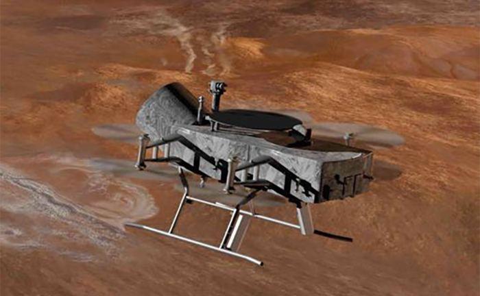 NASA has an upcoming mission to Saturn's moon Titan