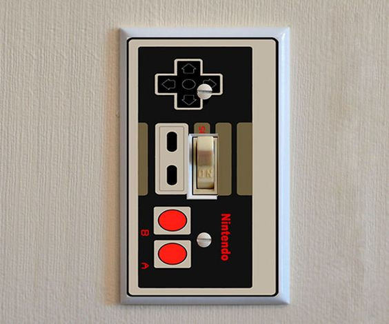 Nintendo Light Switch