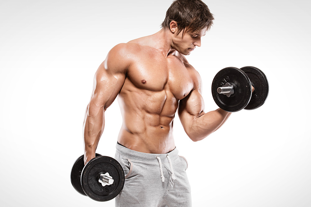mens fitness, legend fitness, arms, biceps, men