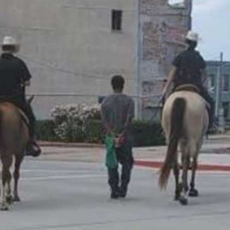 Black man suing the city of Galveston after police led him in handcuffs while riding horseback