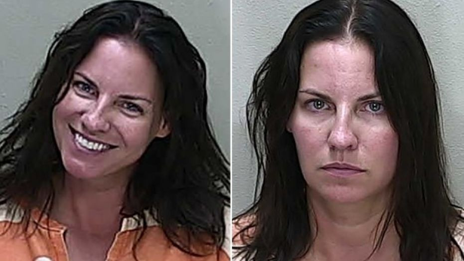 Angenette Marie Welk left mugshot for DUI charge, right mugshot for manslaughter charge.  (Marion County Sheriff's Office)