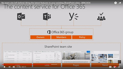 Relationship Teams - Office 365 Groups -