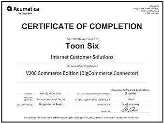 V200_CertificateCPE_Toon Six BigCommerce connector.jpg