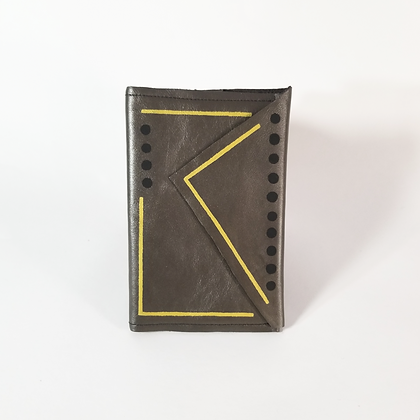 Black Dots Flap Pocket Journal