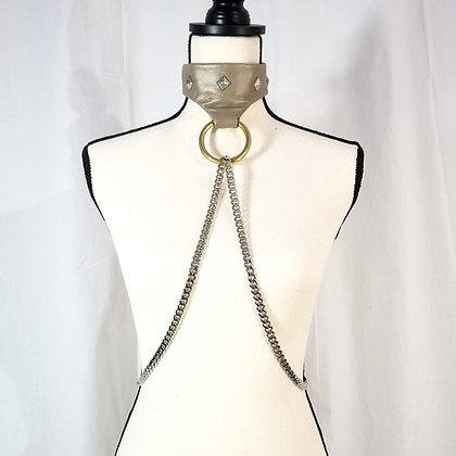 Leather and Chain Harness