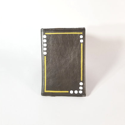 White Dots Pocket Journal