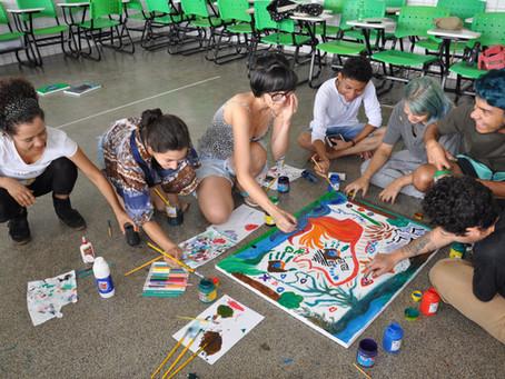 No Distrito Federal a arte discute a liberdade