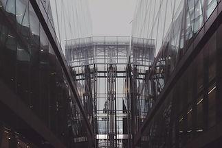 edifício de vidro