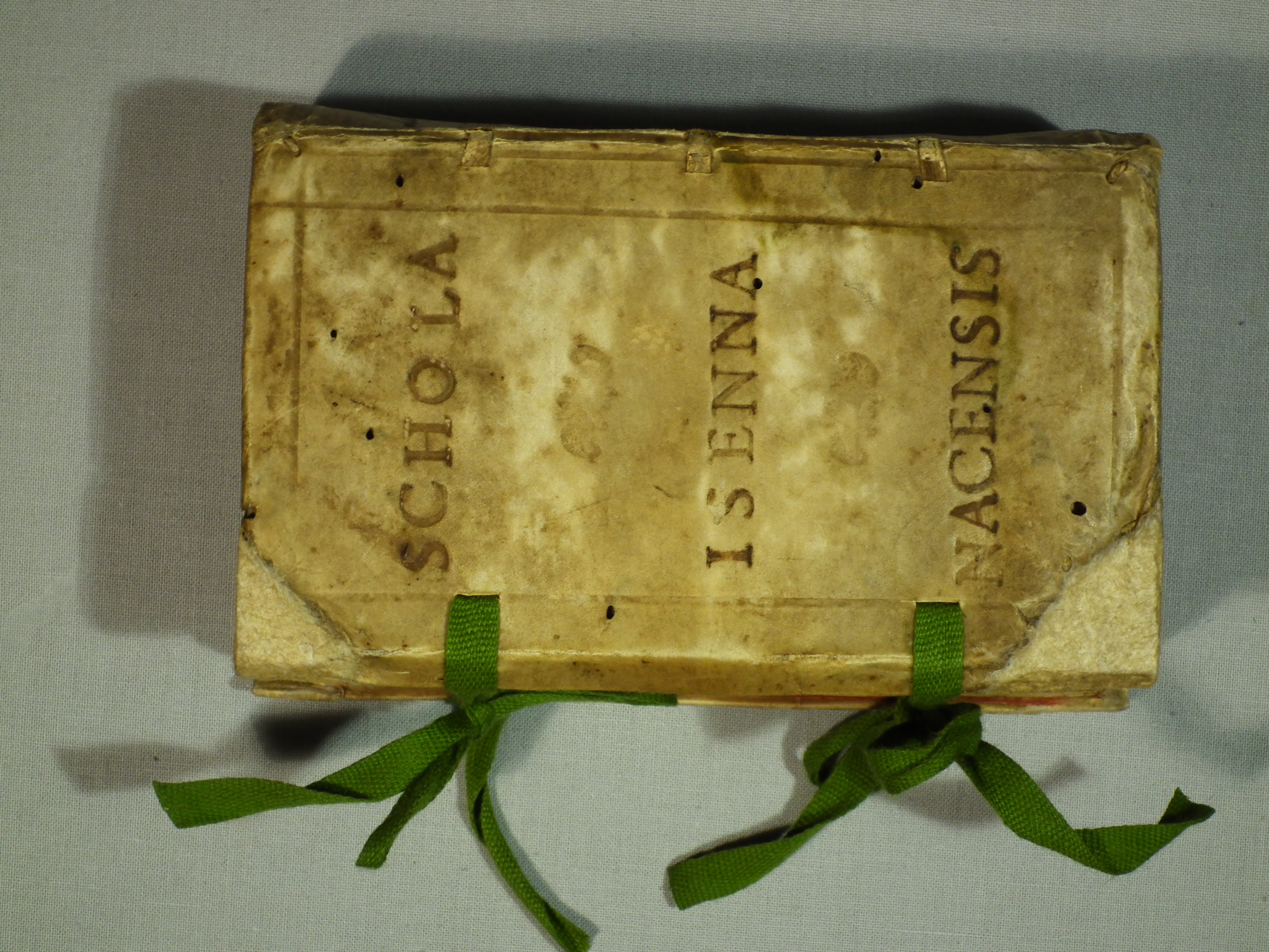 DISCANTI, Schola Isenna Nacensis, 1600. Nachzustand.