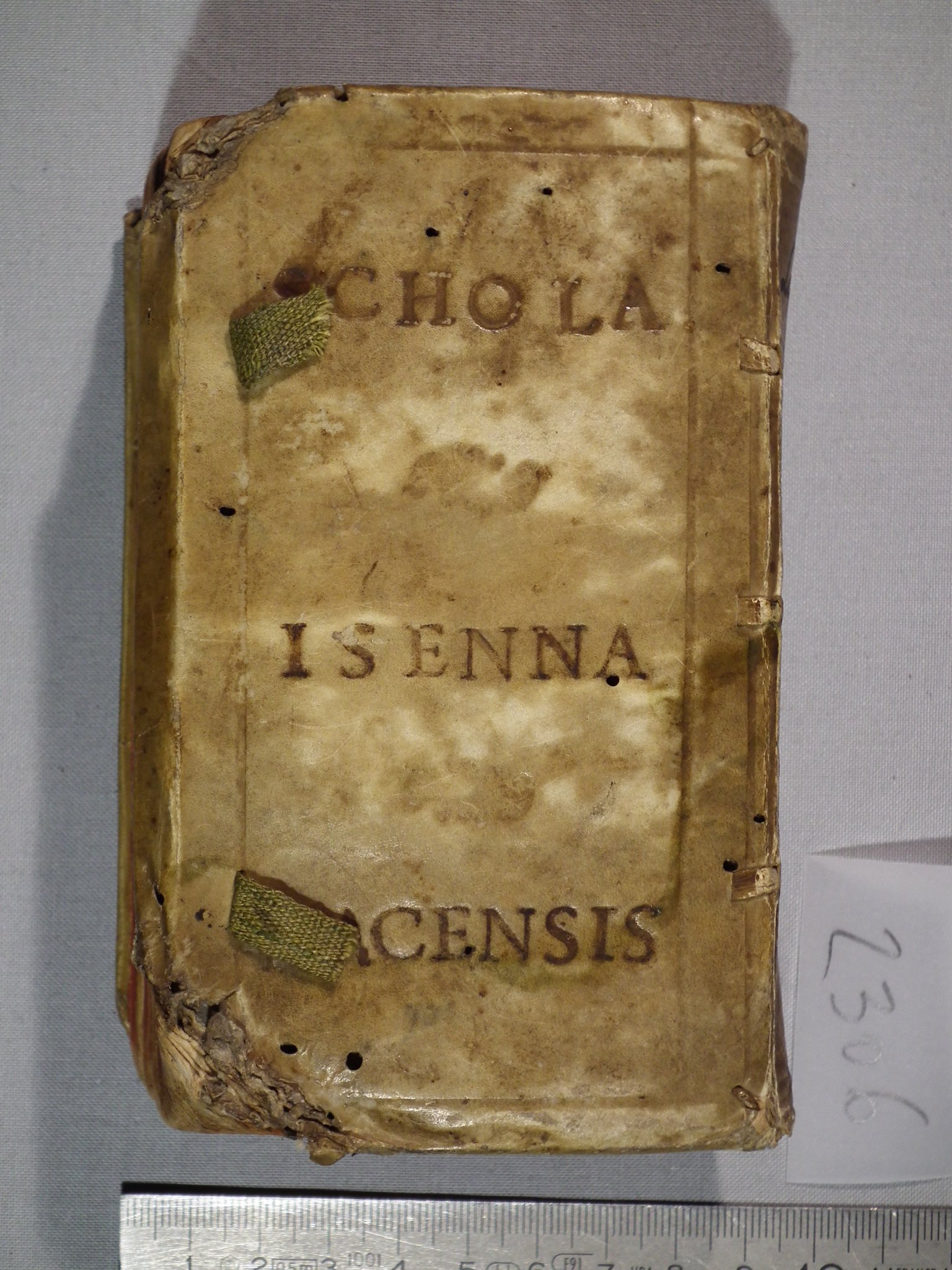 DISCANTI, Schola Isenna Nacensis, 1600. Wartburg-Stiftung Eisenach