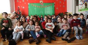 HSBC Bank Armenia and FAR Bring Christmas Joy to Kindergarteners