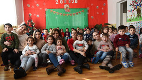 HSBC Bank Armenia and FAR Bring Christmas Joy to Kindergarteners