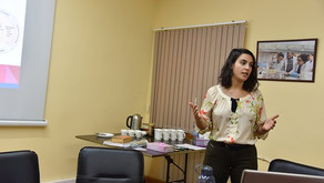 Young Professionals Program Participant Returns to Lead a Special Training
