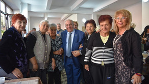 Newly-Renovated Atinizian Senior Center in Gyumri to Better Serve its 200 Low-Income Residents
