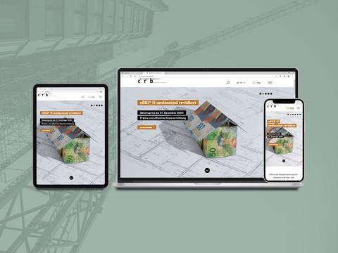 Relaunch CRB-Website