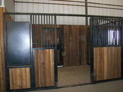 Custom Stall Fronts