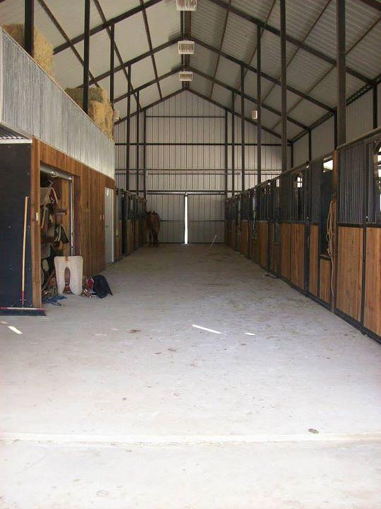 Horse Barn__Custom Stall Fronts & wood work__Stephenville, TX