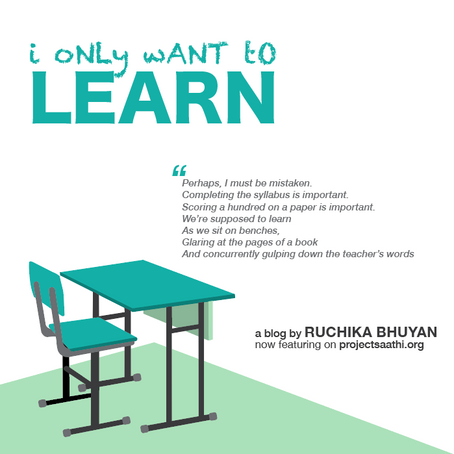 I only want to LEARN