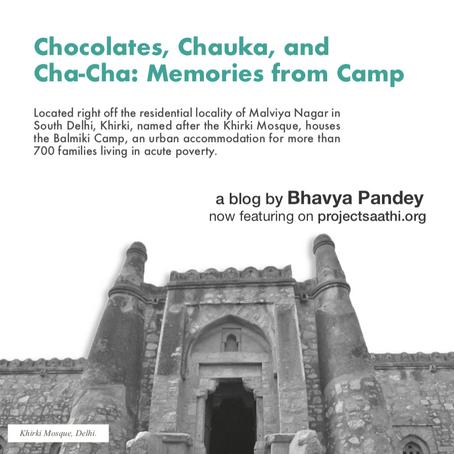 Chocolates, Chauka, and Cha-Cha: Memories from Camp