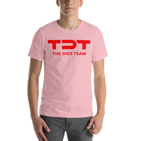 TDT T-Shirt red logo