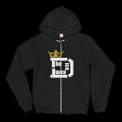 TDT King Logo ジップアップパーカー type W/G1