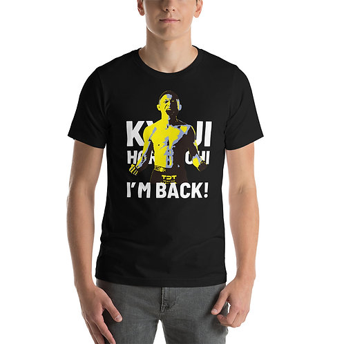 Kyoji Horiguchi Comeback T-Shirt Type1