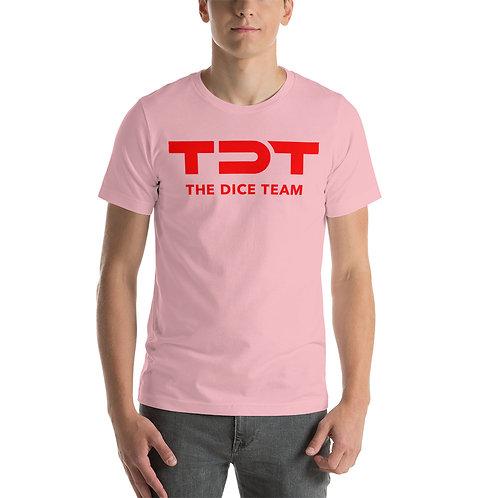 TDT T-Shirt red logo