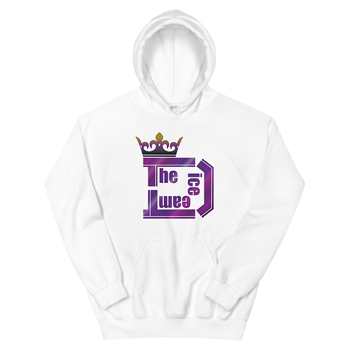 TDT King Logo プルオーバーパーカー type Purple1