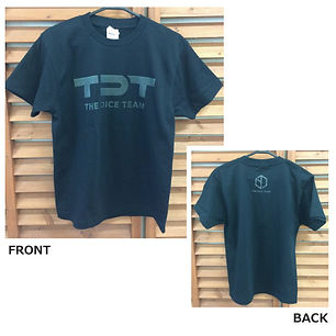 TDT Tシャツ(銀)緑
