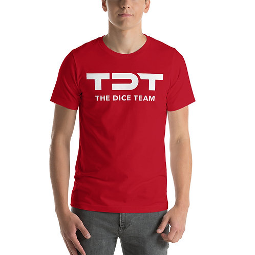 TDT T-Shirt white logo
