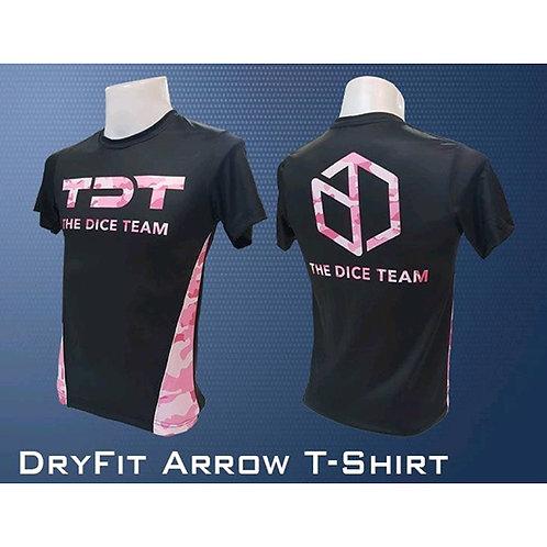 TDT ラッシュガード Tシャツ 迷彩ピンク