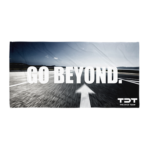 "TDT ""GO BEYOND"" Beach Towel"